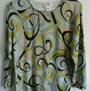 TALBOTS WOMENS BLOUSES